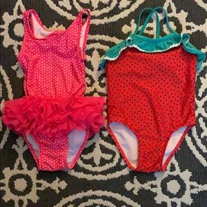 Two Cat & Jack Swimsuits-Size 3T